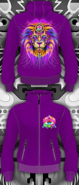 Cyber Lion (Светится в ультрафиолете)