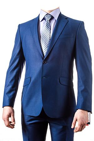Молодежный костюм Парламент синий