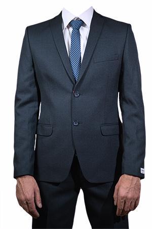 Подростковый костюм Вайнер серо- синий