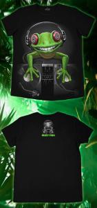 Фото Подростковые футболки GOOD Crazy Frog (Светится в темноте и ультрафиолете)