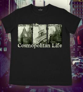 Фото Подростковые футболки GOOD Cosmopolitan Life (Светится в темноте и ультрафиолете)