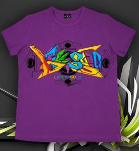 Фото Подростковые футболки GOOD 3D GRAFFITI (Светится в ультрафиолете)
