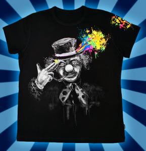 Фото Подростковые футболки GOOD FREE YOUR MIND (Светится в темноте и ультрафиолете)