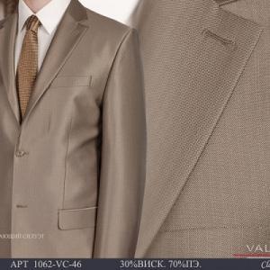 Фото Мужские костюмы, Костюмы весна-лето Костюм мужской двойка Valenti 1062-VC-46