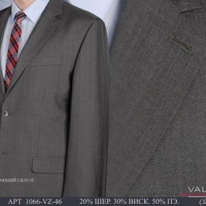 Фото Мужские костюмы, Костюмы весна-лето Костюм мужской двойка Valenti 1066-VZ-46