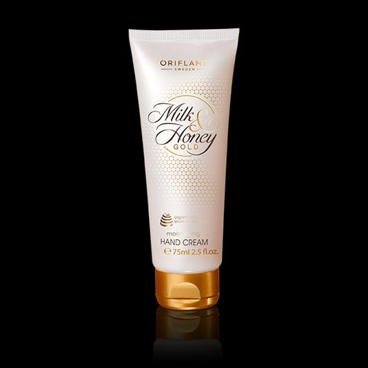 (31606)Увлажняющий крем для рук «Молоко и мед – Золотая серия»