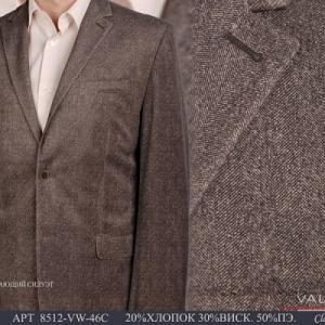 Фото Пиджаки мужские, Пиджаки осень-зима Пиджак мужской Valenti 8512-VW-46C