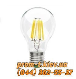 Фото Лампы накаливания, натриевые, галогенные, энергосберегающие, светодиодные, люминесцентные, Светотехника Philips Лампа светодиодная Philips LED Fila 4.3-50W E27 WW A60 ND 1CT APR шарик