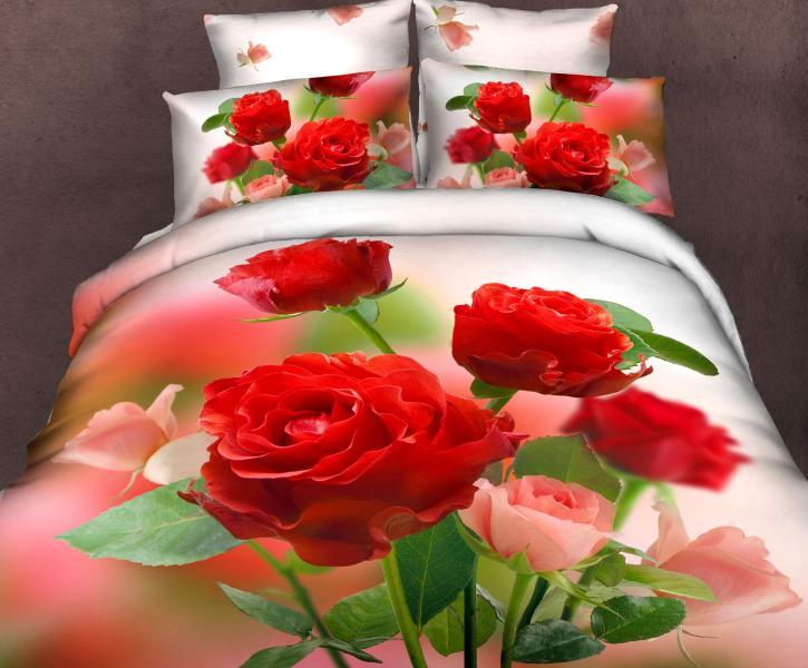 Сатин 1,5 Садовая роза