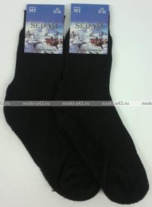 Фото  Седам носки мужские махровый след