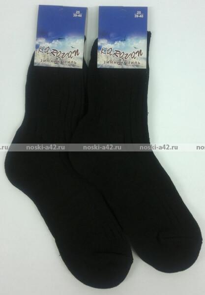 Караван носки мужские А-5 шерсть вязаные