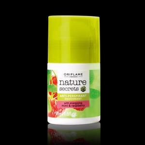 Фото Парфюмерия,туалетная вода , Для женщин, дезодоранты для женщин Шариковый дезодорант-антиперспирант 24-часового действия «Малина и мята» 22669
