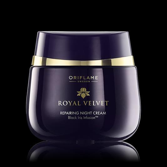 (22814)Подтягивающий ночной крем «Королевский бархат»