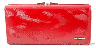 Кошельок Canevo 19*9 красный