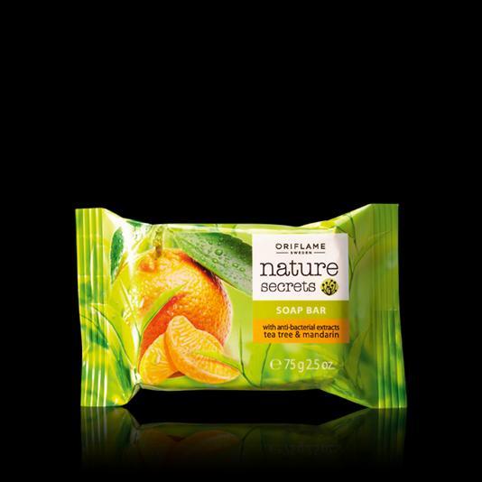 Мыло «Чайное дерево и мандарин» 23414