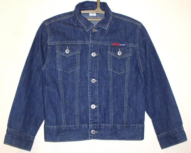 """Куртка джинсовая подростковая мальчиковая """"Simple"""" *2852"""