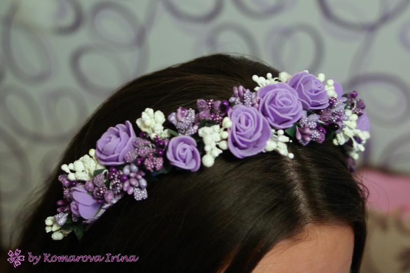 Фиолетовый ободок