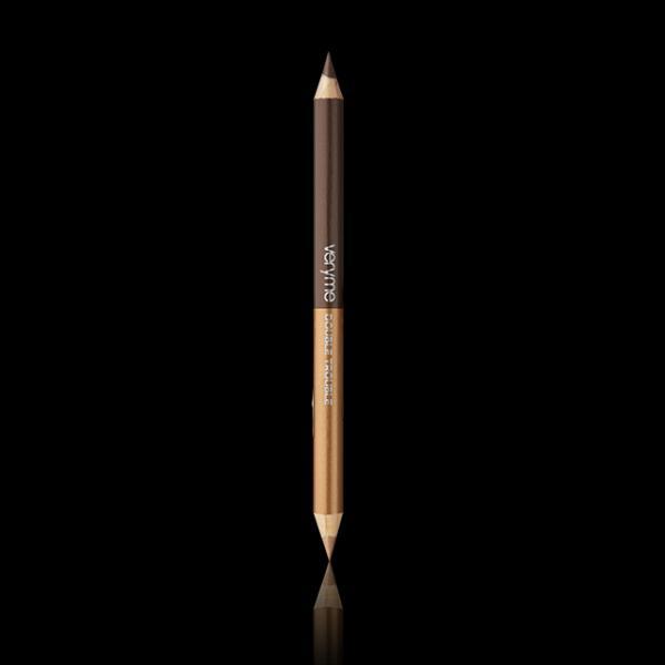Двусторонний карандаш для глаз «Двойная игра» 32186