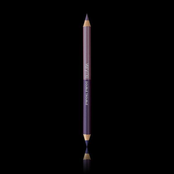 Двусторонний карандаш для глаз «Двойная игра» 32189