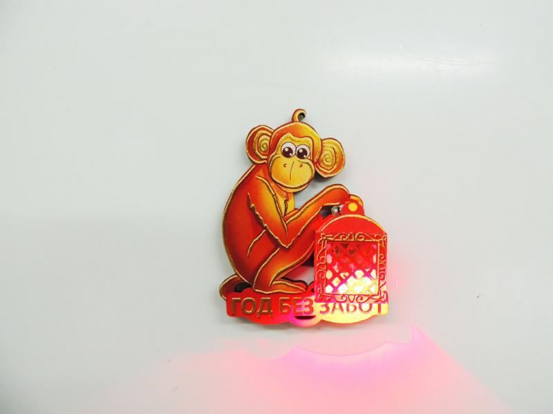 Магнит сувенирный символ 2016 года Обезьянка