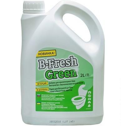 Жидкость д/биотуалета B-Fresh Green, 2 л (8710315020786)