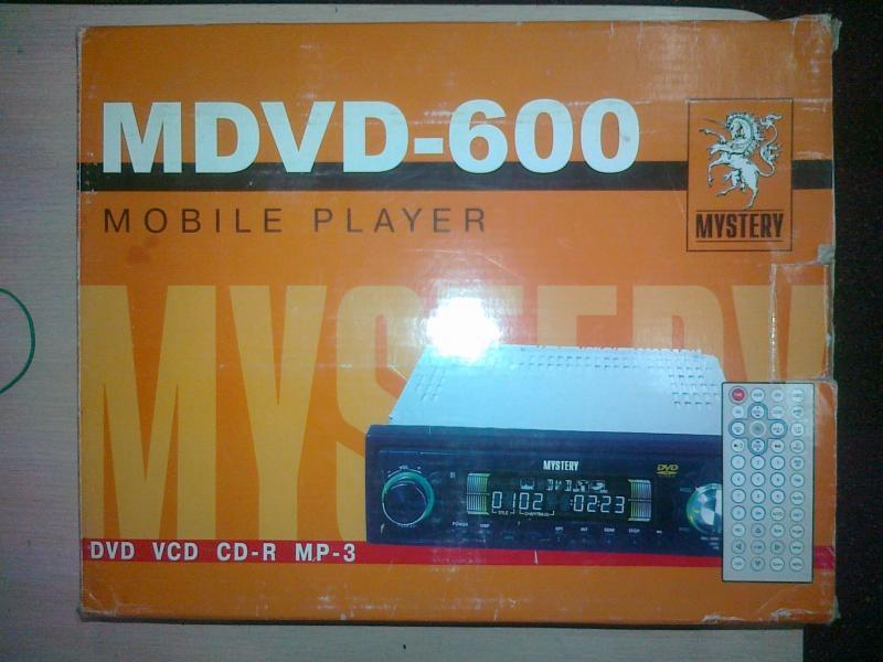 Автомагнитола  MYSTERY MDVD-600