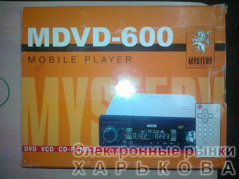 Автомагнитола  MYSTERY MDVD-600 - Автомобильная электроника на рынке Барабашова