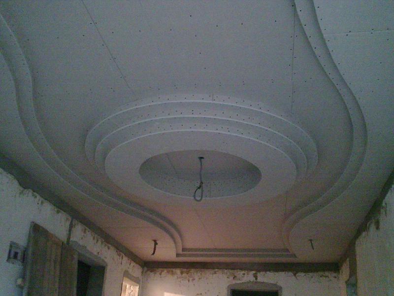 Гипсокартонные работы:монтаж потолков из гипсокартона,возведение перегородок