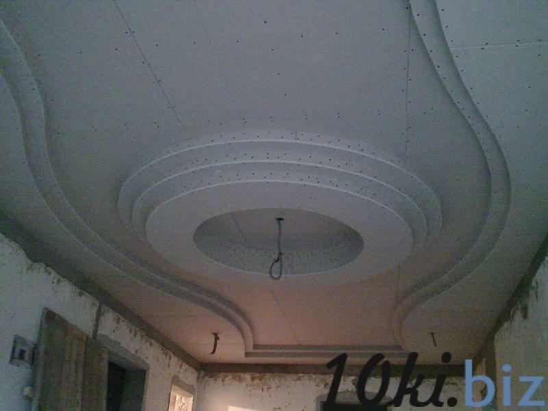 Гипсокартонные работы:монтаж потолков из гипсокартона,возведение перегородок Монтаж гипсокартонных конструкций в Самаре