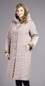 Женское стеганное пальто - модель №229