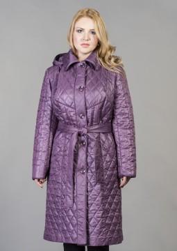 Женское стеганное пальто - модель №380