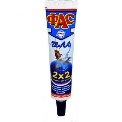 ФАС - гель от тараканов и муравьев 75 гр.