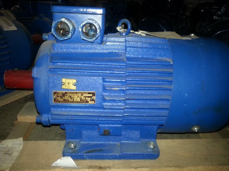электродвигатель АИР 112M2 7.5 кВт. 3000 об/мин.