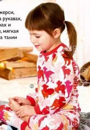 (28683)Детская пижама «Овечки» - Пижамы детские для девочек на рынке Барабашова