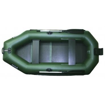 Надувная лодка Ладья ЛТ-270-БВЕ (слань-книжка)