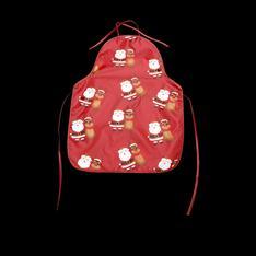 Фото Украшение,Аксессуары, Для  детей (28671)Детский фартук «Подарок Санты»