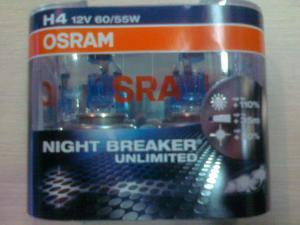 Фото Автомобильные галогеновые лампы Лампы NIGHT BREAKER unlimited