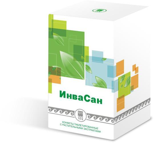 ИнваСан-конфеты с растительными экстрактами от паразитов (100шт)