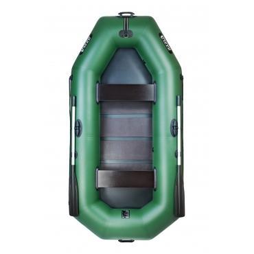 Надувная лодка Ладья ЛТ-290-БВ со сланью-книжкой