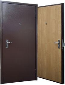 Фото Металлические двери Модель № 1