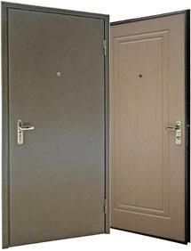 Фото Металлические двери Модель № 4