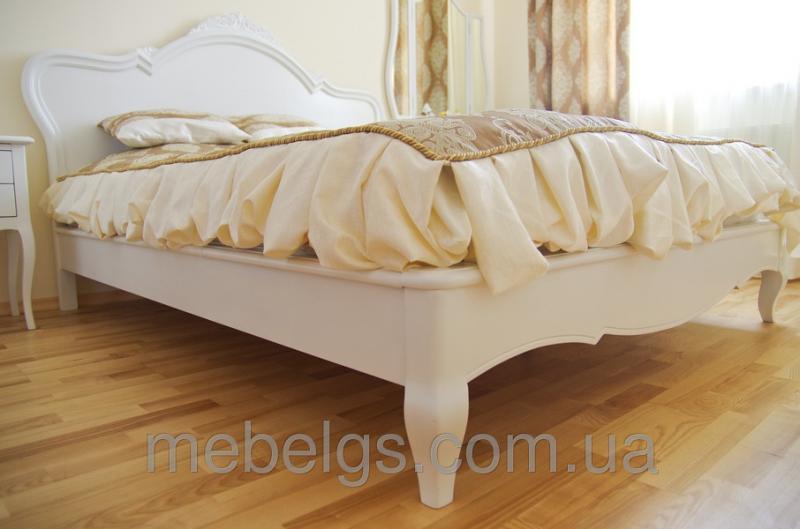 """Кровать """"Лина"""" с резьбой"""