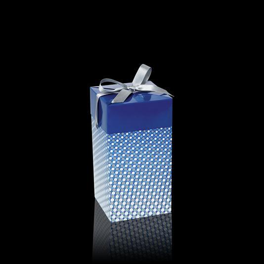 (27916)Подарочная коробка (синяя)