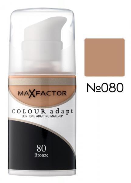 Тональный крем Max Factor Colour Adapt №80