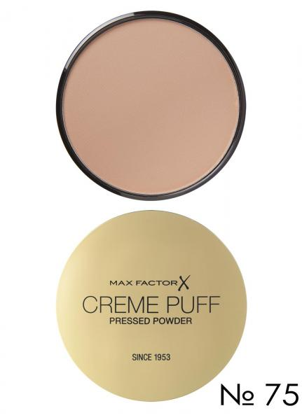 Пудра CREME PUFF №75 Golden/Золотой