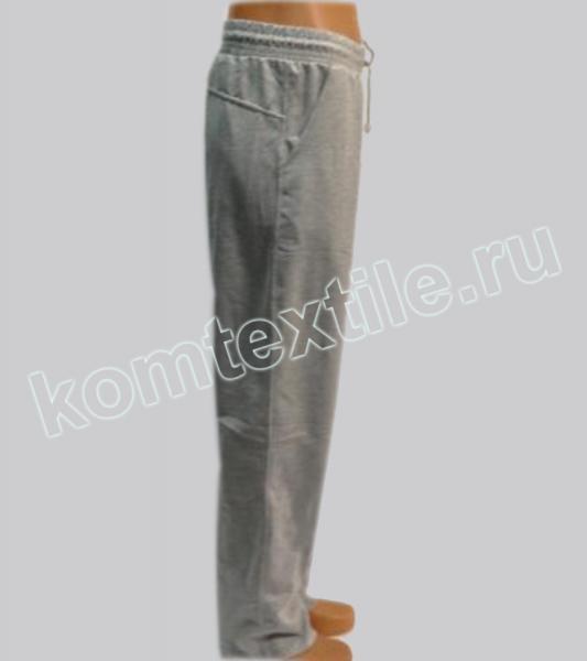 Спортивные брюки 2-х нитка с лайкрой пл.250гр С.СЕРЫЕ
