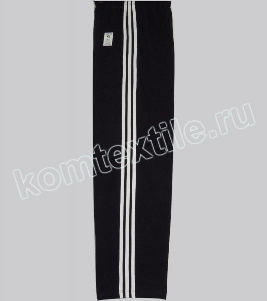 Спортивные брюки х/б с лампасами