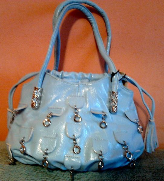 Дамская сумочка светло-голубого цвета