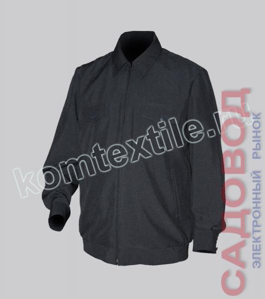 Куртка на молнии, габардин Полиция муж.