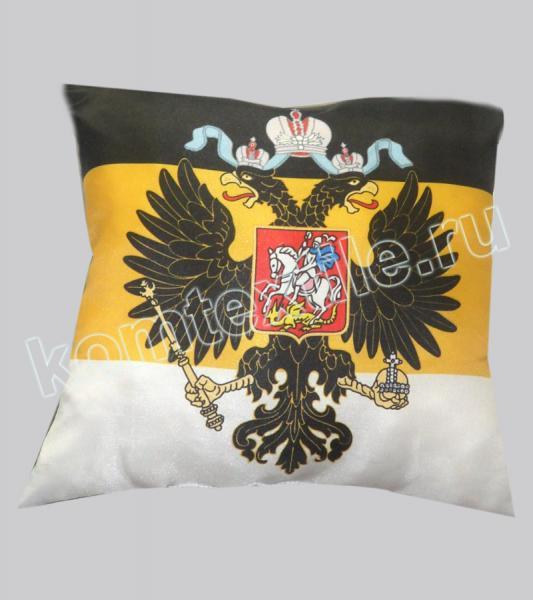 """Подушка """"Имперский флаг с орлом"""""""